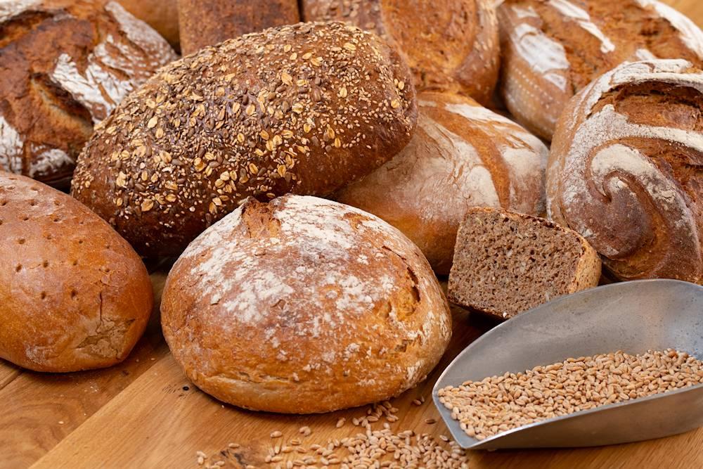 … vom Brot