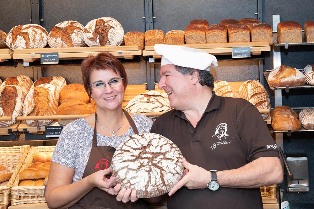 Brotmanufaktur Kleinbauer: Petra und Hans-Jörg Kleinbauer